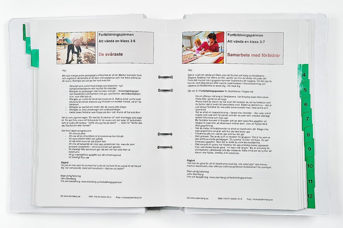 FORTBILDNINGSBIBLIOTEKET: En fortbildningslösning med hundratals filer för reflektion och handling